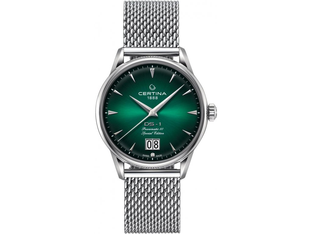 certina ds 1 big date powermatic 80 nivachron c0294261109160 ds concept 60th anniversary special edition 185726 209533