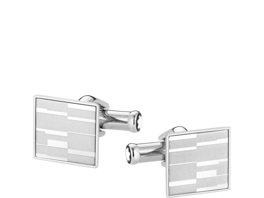 Manžetové knoflíčky Montblanc 111316  + dárkový poukaz v hodnotě 500Kč