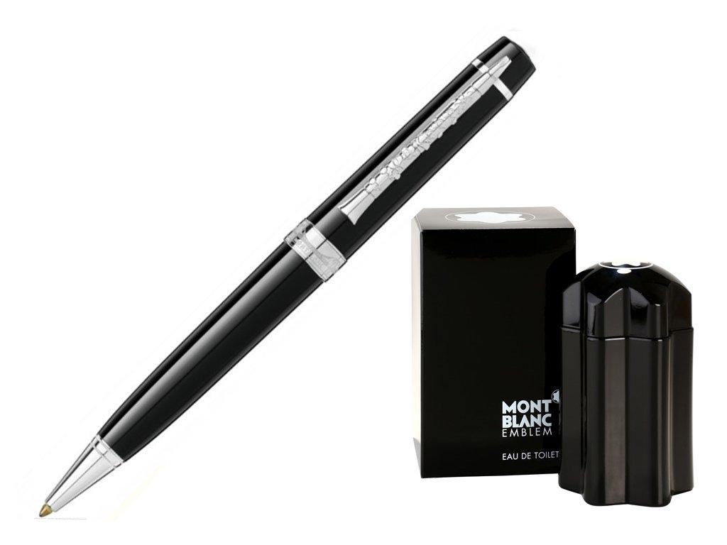 Kuličkové pero Montblanc George Gershwin 119879 Special Edition  + dárkový poukaz v hodnotě 1000Kč + toaletní voda Montblanc v hodnotě 520Kč