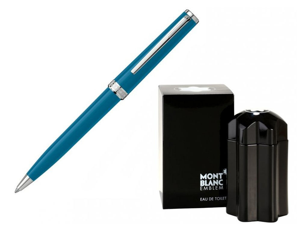 Kuličkové pero Montblanc Pix 119351  + toaletní voda Montblanc v hodnotě 520Kč