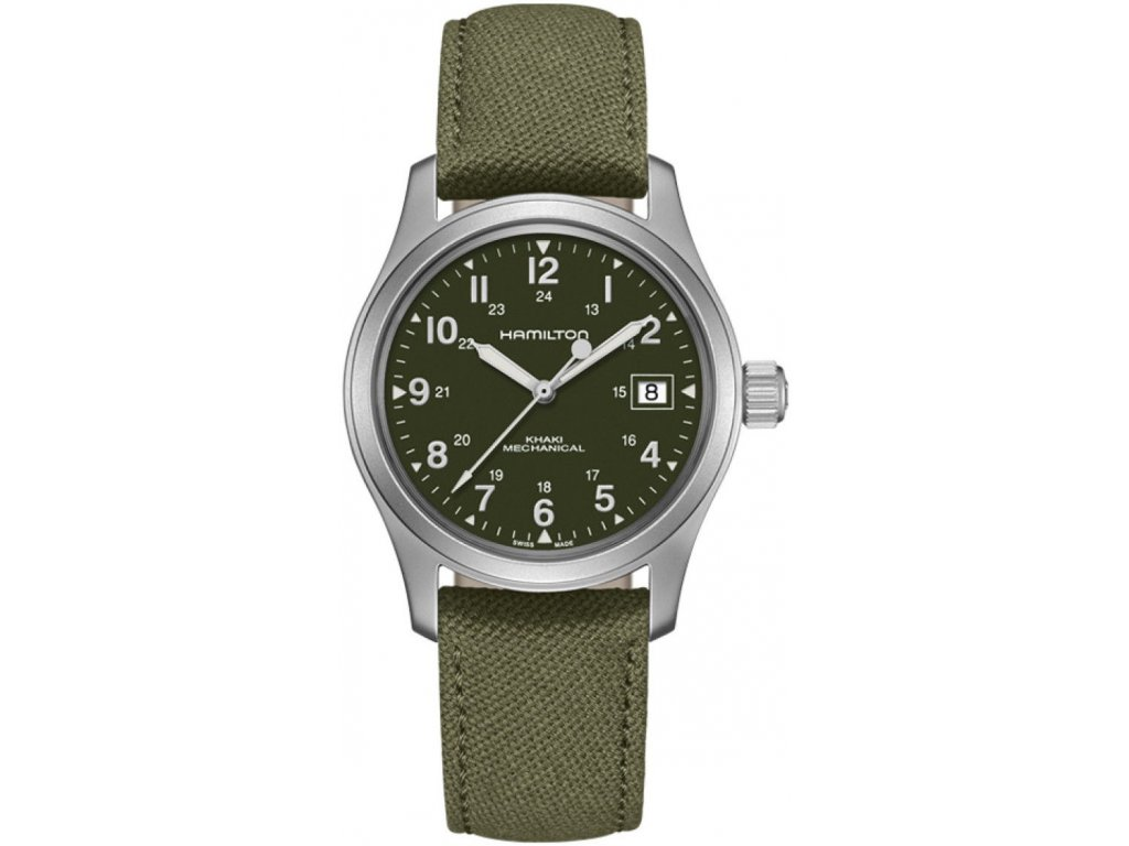 hamilton khaki field mechanical h69439363 184000 203180