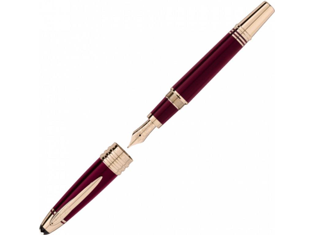 Plnící pero Montblanc J.F. Kennedy 118051 M  + dárkový poukaz v hodnotě 1000Kč