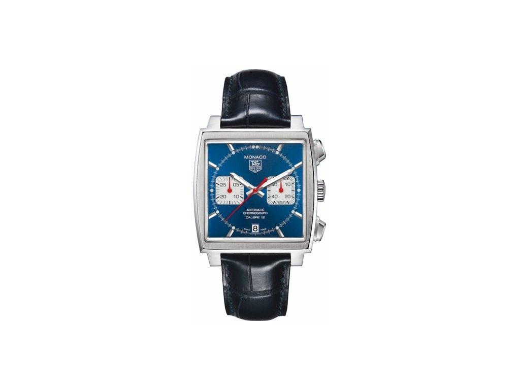 TAG Heuer Monaco CAW2111.FC6183  + prodloužená záruka 5 let+ možnost výměny do 90 dní + pojištení na rok + natahovač na hodinky ZDARMA