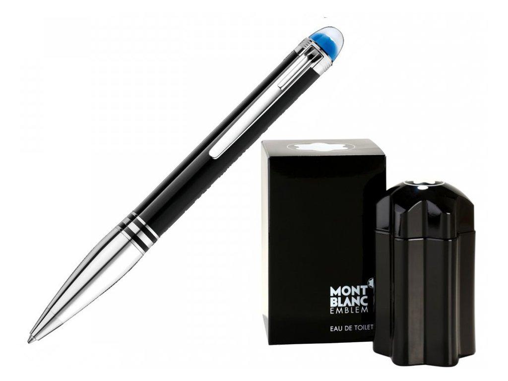 Kuličkové pero Montblanc StarWalker Doué 118873  + možnost výměny do 90 dní + dárkový poukaz v hodnotě 1000Kč + toaletní voda Montblanc v hodnotě 520Kč