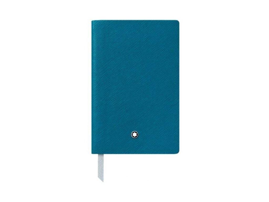 Notes Montblanc 119489 Petrol Blue  + možnost výměny do 90 dní
