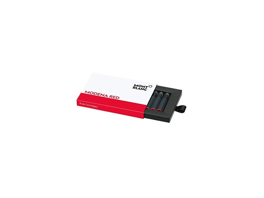 Inkoustová kazeta Montblanc 128205 Modena red  + možnost výměny do 90 dní