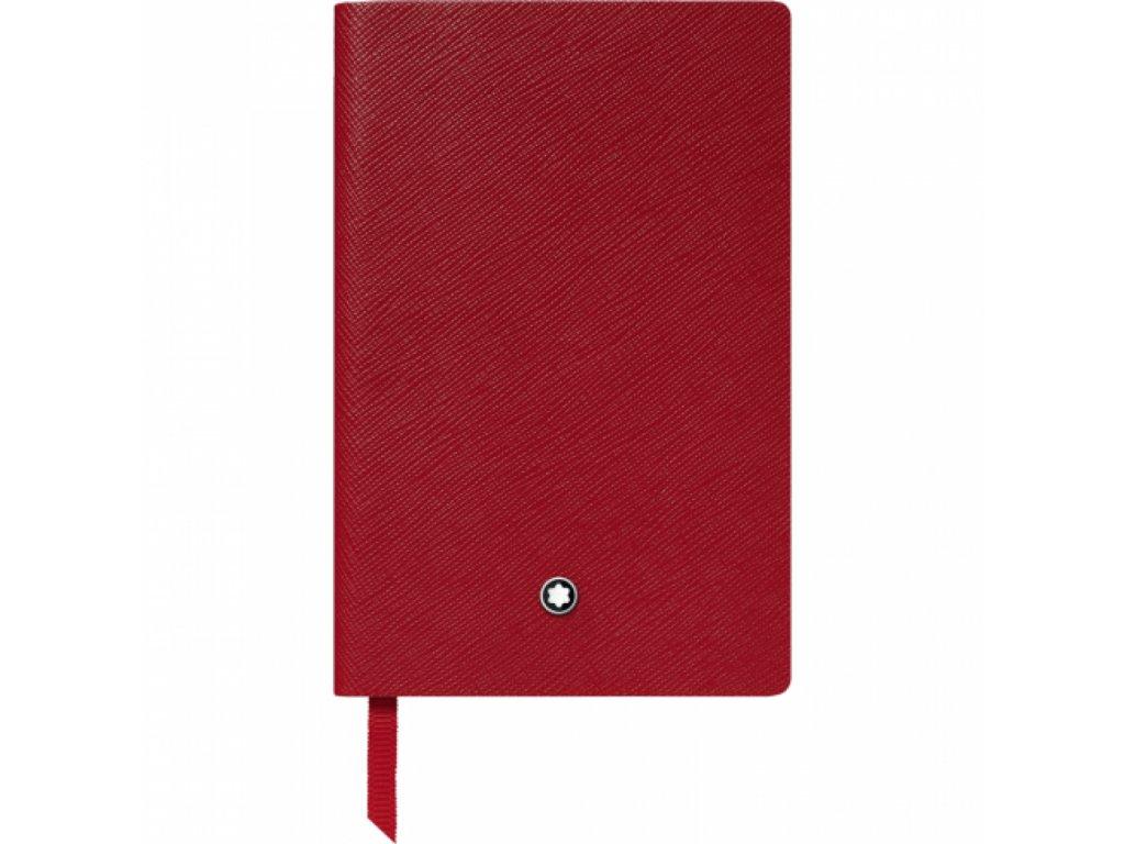 Notes Montblanc 118039 Red  + možnost výměny do 90 dní