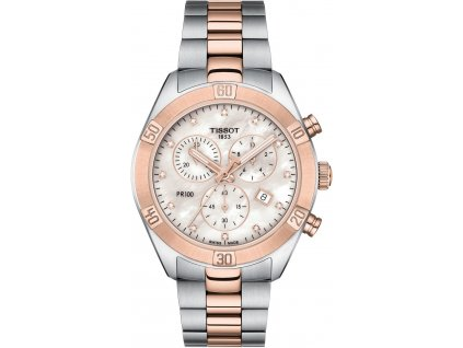 tissot pr 100 sport chic lady quartz chronograph t1019172211600 205678 225193