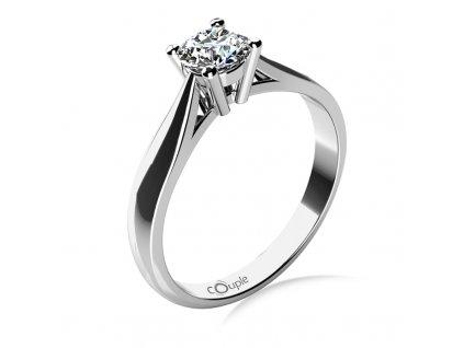 Zlatý dámský prsten Rose 6864014