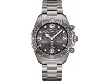 certina ds action chronograph quartz cosc chronometer titanium c0324344408700 202904 221538