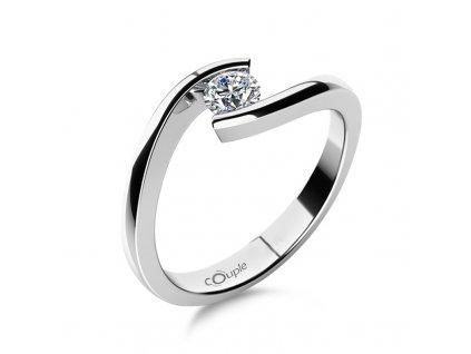 Zlatý dámský prsten Freya 6864060