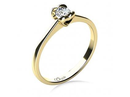 Zlatý dámský prsten Sophia 6814038  + možnost výměny do 90 dní