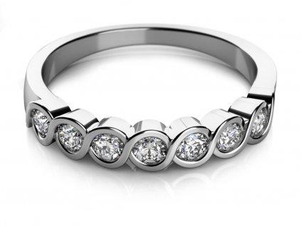 Zlatý dámský prsten Kim 6860007