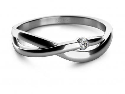 Zlatý dámský prsten Odette 6860667  + možnost výměny do 90 dní