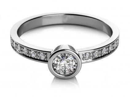 Zlatý dámský prsten Gabi 6860350  + možnost výměny do 90 dní