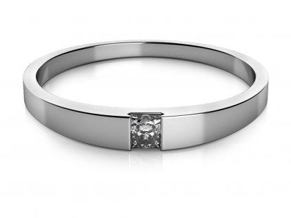 Zlatý dámský prsten Viki 6860513  + možnost výměny do 90 dní