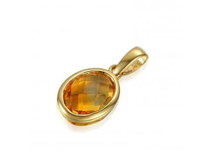Zlatý dámský přívěsek Devon 3824489  + možnost výměny do 90 dní