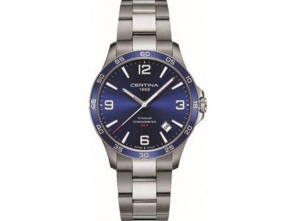 certina ds 8 quartz precidrive cosc chronometer titanium c0338514404700 202964 221710