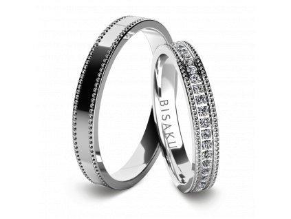 snubni prsteny bile zlato AmarinI