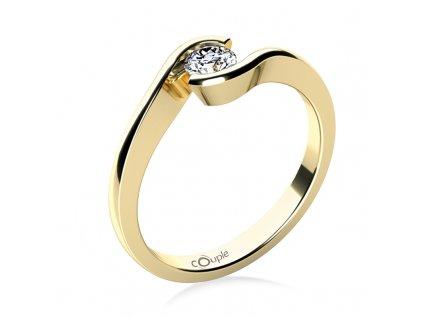 Zlatý dámský prsten Linette 6814063