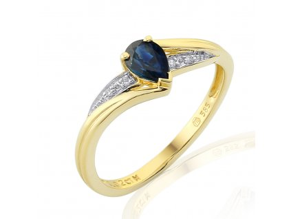 Zlatý dámský prsten Roya 3811949  + možnost výměny do 90 dní