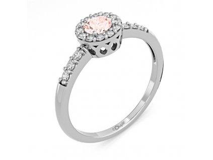 Zlatý dámský prsten Sari 6660270  + prodloužená záruka 5 let + 5 let na výměnu baterie zdarma