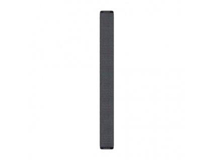 Řemínek Garmin pro Enduro - UltraFit 26, nylonový, šedý, na suchý zip