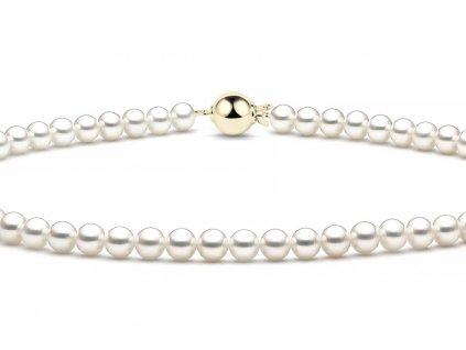 Perlový dámský náhrdelník 7540034-0-45-91  + možnost výměny do 90 dní
