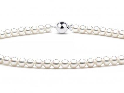 Perlový dámský náhrdelník 7590045-0-45-91  + možnost výměny do 90 dní