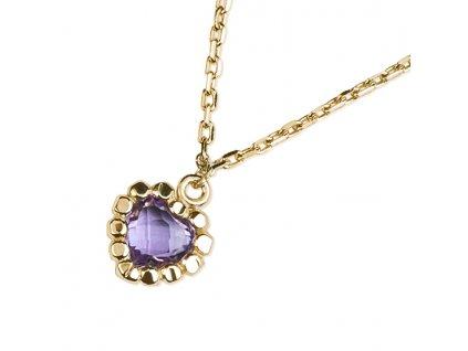 Zlatý dámský náhrdelník Leslie 1441380-0-45-95  + možnost výměny do 90 dní