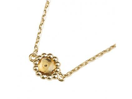 Zlatý dámský náhrdelník Leslie 1441368-0-45-80  + možnost výměny do 90 dní
