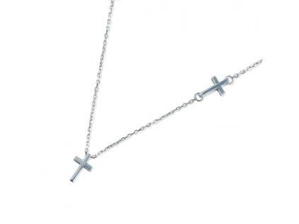 Zlatý dámský náhrdelník Mary 1490743-0-45-0  + možnost výměny do 90 dní