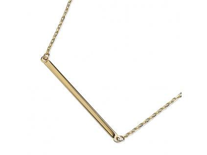 Zlatý dámský náhrdelník Kristin 1441058-0-45-0  + možnost výměny do 90 dní
