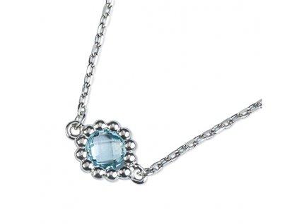 Zlatý dámský náhrdelník Leslie 1491368-0-45-93  + možnost výměny do 90 dní