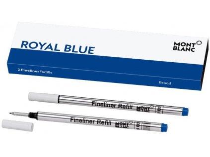 Náplň Montblanc pro Fineliner 128249 B royal blue
