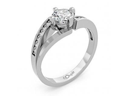 Zlatý dámský prsten Tilde 6660277  + možnost výměny do 90 dní