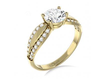Zlatý dámský prsten Gemima 6610280  + možnost výměny do 90 dní
