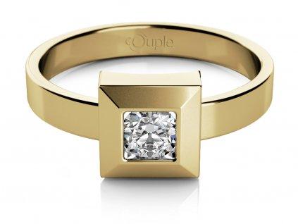 Zlatý dámský prsten Ima II 6810200-0-57-1  + možnost výměny do 90 dní