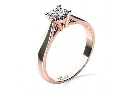 Zlatý dámský prsten Rose 6868012