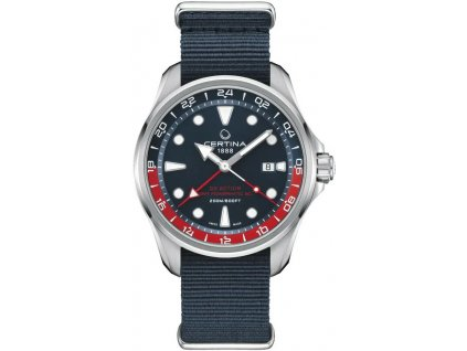 certina ds action automatic powermatic 80 gmt c0324291804100 212330 252179