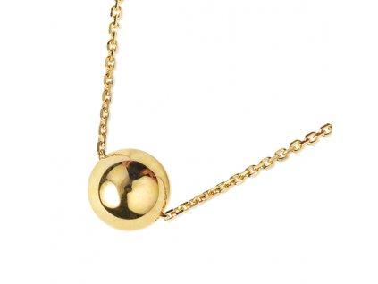 Zlatý dámský náhrdelník Oleandra 1441068  + možnost výměny do 90 dní