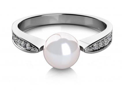 Zlatý dámský prsten Julia 4565081