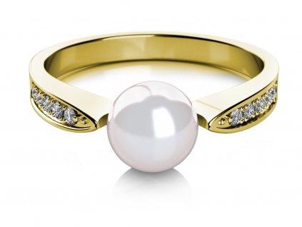 Zlatý dámský prsten Julia 4515081