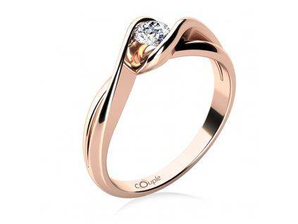 Zlatý dámský prsten Annie 6864134  + možnost výměny do 90 dní