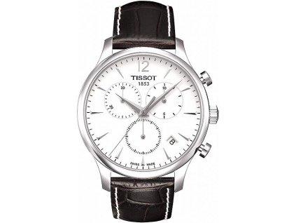 Tissot Tradition T063.617.16.037.00  + prodloužená záruka 5 let + možnost výměny do 90 dní + 5 let na výměnu baterie zdarma