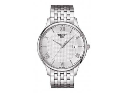 Tissot Tradition T063.610.11.038.00  + prodloužená záruka 5 let + 5 let na výměnu baterie zdarma