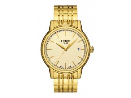 Tissot T-Classic Carson T085.410.33.021.00  + prodloužená záruka 5 let + 5 let na výměnu baterie zdarma
