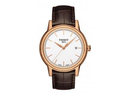 Tissot T-Classic Carson T085.410.36.011.00  + prodloužená záruka 5 let + možnost výměny do 90 dní + 5 let na výměnu baterie zdarma