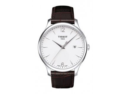 Tissot T-Classic Tradition T063.610.16.037.00  + prodloužená záruka 5 let + možnost výměny do 90 dní + 5 let na výměnu baterie zdarma