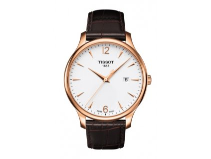 Tissot T-Classic Tradition T063.610.36.037.00  + prodloužená záruka 5 let + možnost výměny do 90 dní + 5 let na výměnu baterie zdarma